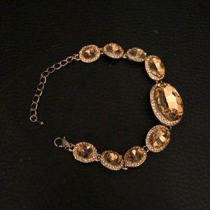 Jewelry - Rose Gold Gem Bracelet